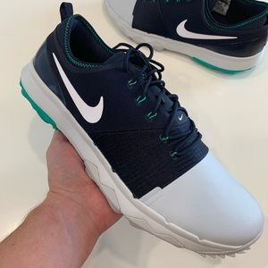 Nike FI Impact 3 Navy Grey Golf Shoes Size 12 New
